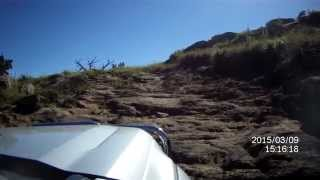 Mountain climb Ford Ranger T6