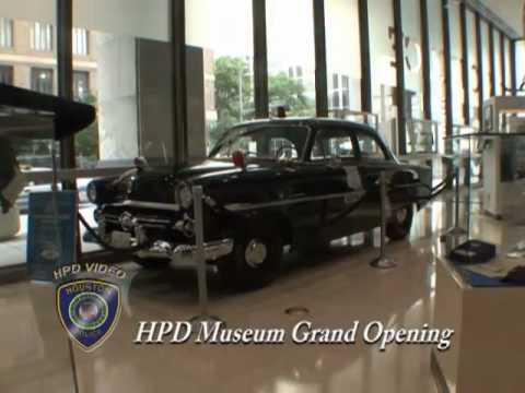 HPD Museum Grand Opening (Houston Police Department, HPD Video Production, MJ)
