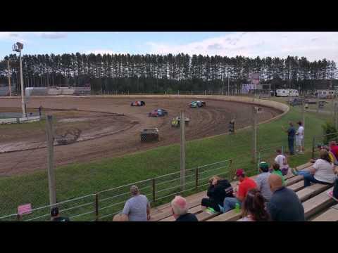 Mod 4 Heat Race 2 -North Central Speedway Brainerd