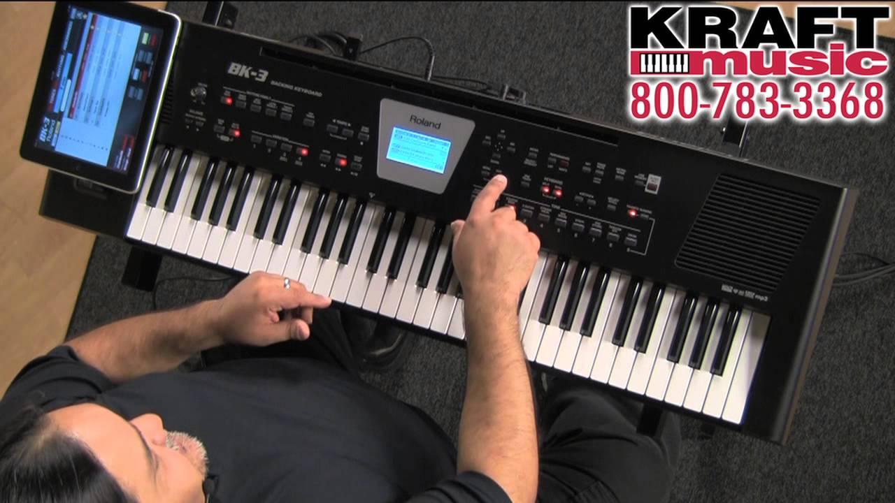 Roland Bk 3 : kraft music roland bk 3 backing keyboard demo with ed diaz youtube ~ Vivirlamusica.com Haus und Dekorationen