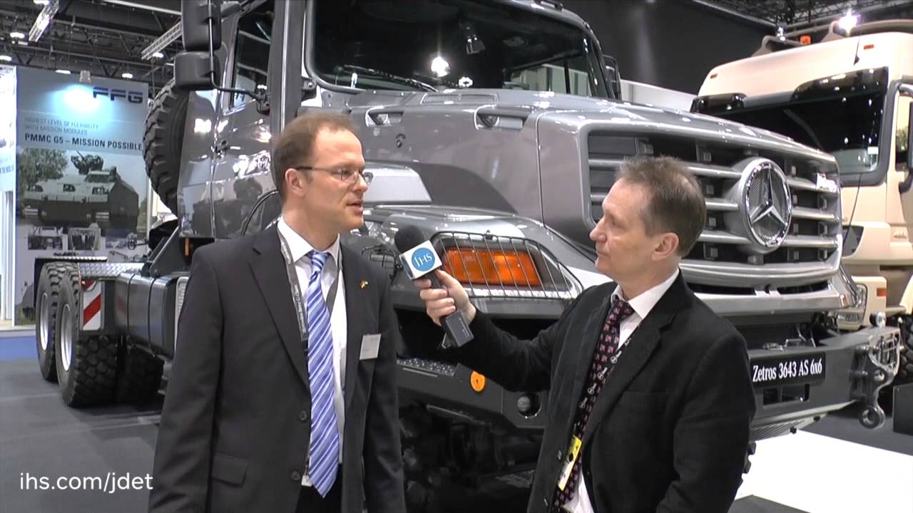 IDEX 2015 Shaun Connors talks to Mercedes-Benz about their ...