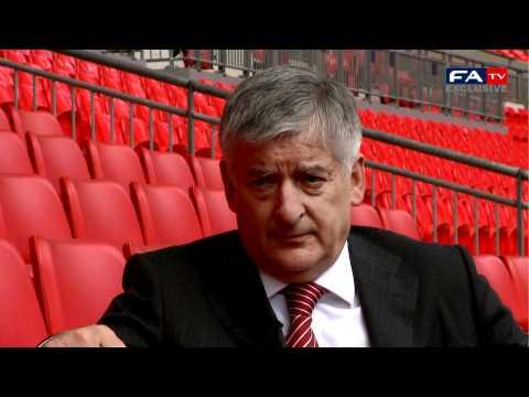 David Bernstein at Wembley   FA Cup final - Manchester City vs Stoke 14-05-11