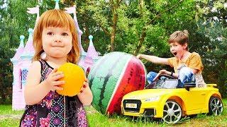 Kinderlied zum Mitsingen.Das Obstlied.Kindervideo auf Deutsch.