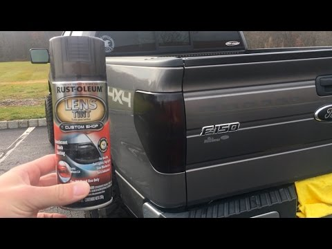 Diy Tinted Tail Lights Youtube