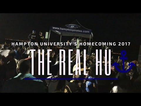 Hampton University 's Homecoming 2017: THE REAL HU!