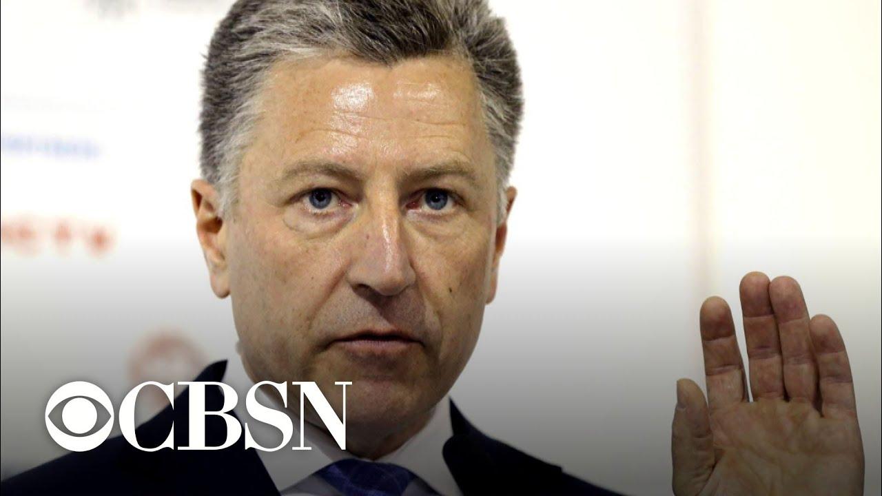Kurt Volker testimony reveals Ukraine concerns