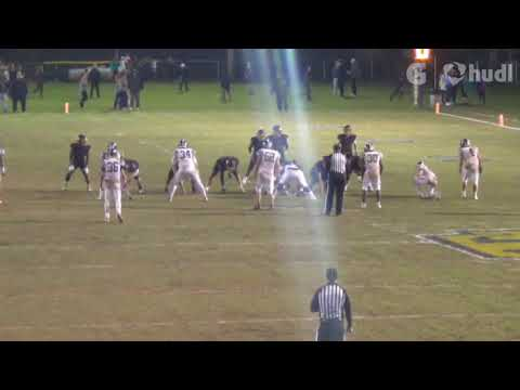 Corey Strother Bessemer Academy Football Junior Highlights