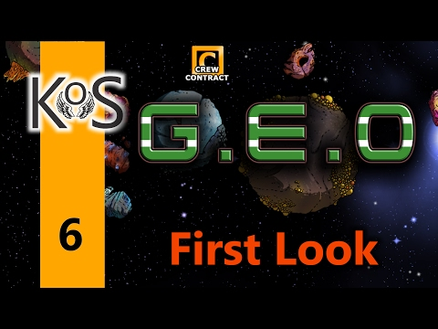 Geo Ep 6: Mining the Planets - First Look - Let's Play, Gameplay