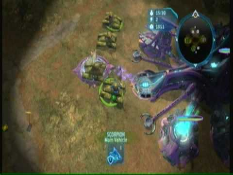 Halo Wars Strategy - Forge Tank Rush With Early Expo (TREE)