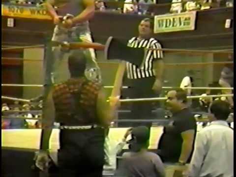 NEWF 9/27/1991: Mad Dog Richard vs. Paul Bunyon