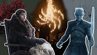 A Volta de GOT Confirmou a Teoria Mais Louca da Série? | Game of Thrones S08E01