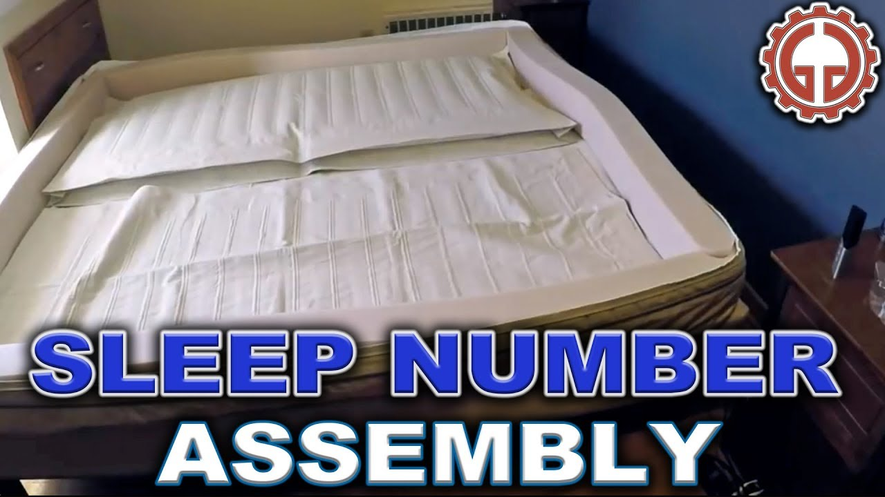 sleep number p5 bed unbox assembly