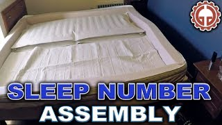 Sleep Number P5 Bed Unbox & Assembly