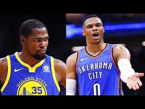 """Kevin Durant Says """"F*ck"""" Russell Westbrook & OKC Thunder After Thunder Gave His Jersey Number Away"""
