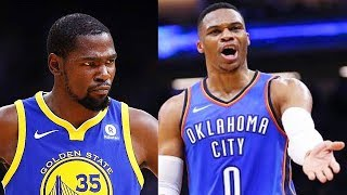 Kevin Durant Says F ck Russell Westbrook OKC Thunder After Thunder Gave His Jersey Number Away