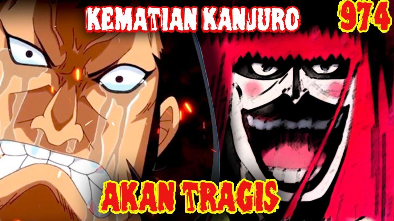 """Penghianat !! Kanjuro akan mendapatkan hal ini di """"PER@NG WANO"""" ( One Piece 974 )"""