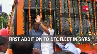 Inauguration of Cluster Buses - TOI