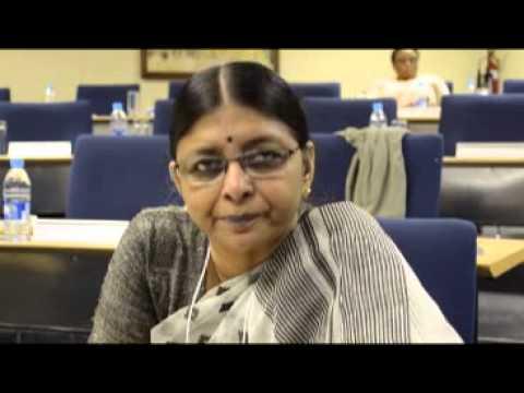 Dr Rukmani Ramani, MS Swaminathan Research Foundation, India   Part 1