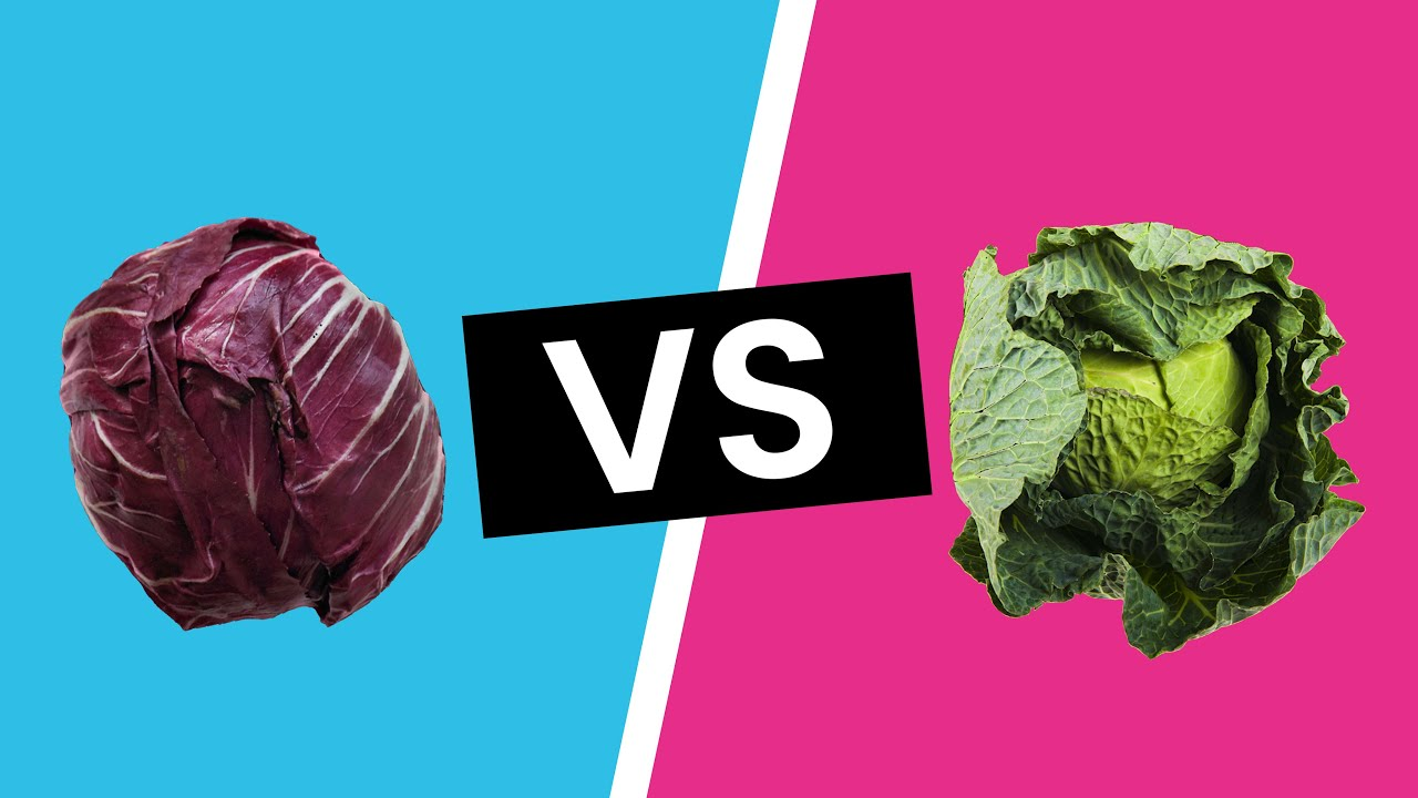 What's the Difference between Green Cabbage & Red Cabbage