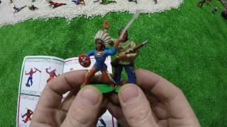 Солдатики игрушки играть с детьми игра как мультики лего роботы война про солдатиков Форт Техас 154