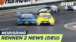 Marco Wittmann begeistert vor Heimkulisse - DTM Norisring 2018