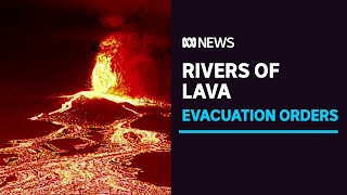 Giant wall of lava spreads across La Palma in the Spanish Canary Islands | ABC News