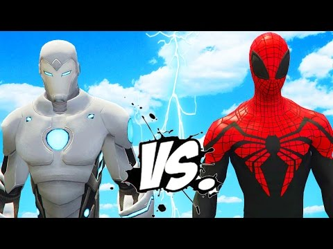 Superior Iron Man vs Superior Spider-Man - Epic Superheroes Battle