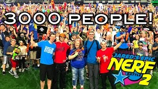 WORLD'S LARGEST NERF WAR! (Jared's Epic Nerf Battle 2) | with Coop772, PDK Films, Lord Draconical!