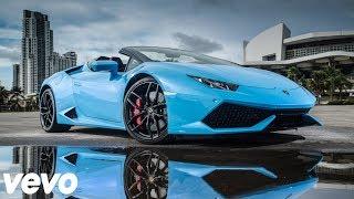 Lil Pump - Drug Addicts (Bass Boosted) Lyrics Lamborghini Huracan Performance