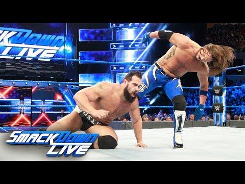 AJ Styles vs. Rusev: SmackDown LIVE, March...