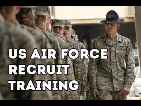 US Air Force Recruit Training - US Air Force Basic Military