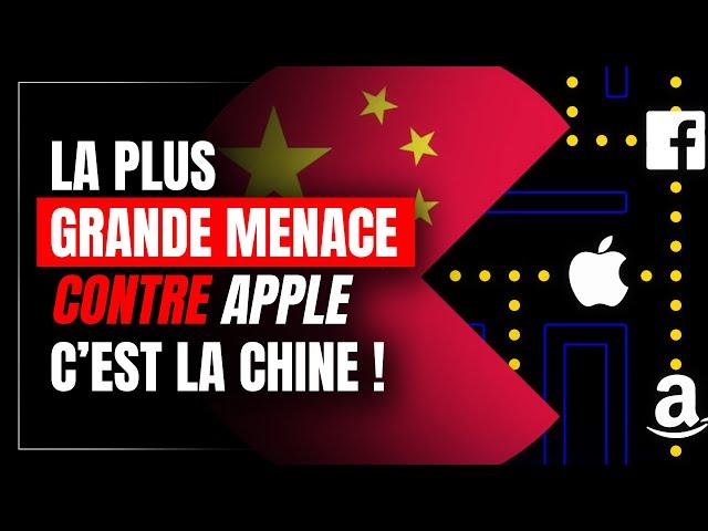 La plus grande menace contre Apple, c'est la Chine !