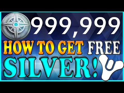 Destiny : How to Get Free Silver! Unlimited Sterling Treasure (Appnana)