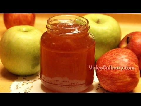 Homemade Apple Jam Recipe - Video Culinary