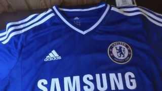 Обзор Футбольной Формы Chelsea!!!(unboxing)