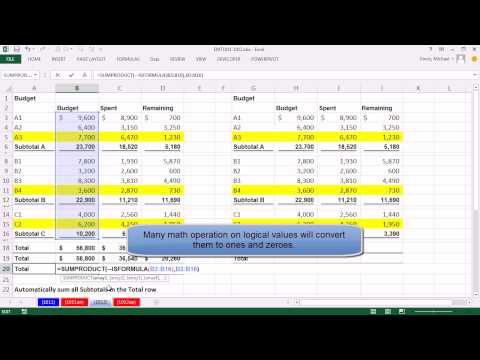 Excel Magic Trick 1012: Automatically Add All Subtotals In A Column (6 Methods)
