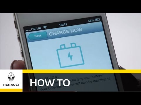 How To: Control Your Electric Car From Your Smartphone - Renault ZOE