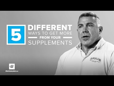 5 Different Ways To Get More From Your Supplements | Darryn Willoughby, Ph.D.