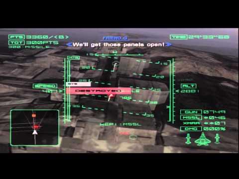 Ace Combat 4 Mission 18 Megalith