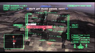 Ace Combat 4 Mission 18 Megalith