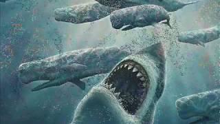 Megalodon vs Predator X (Pliosaurus funkei)