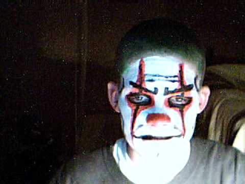 Scary Clown Face Paint Youtube