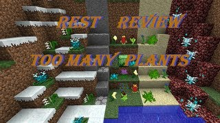 REST Review: TOO MANY PLANTS