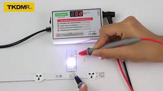 TKDMR LED 램프 구슬 및 백라이트 테스터 필요 …