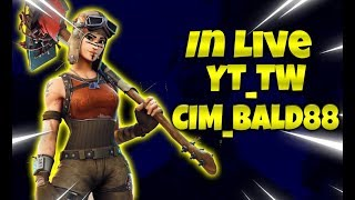 Fortnite Save the World Liv 131 TORNEO DPS :GIVE AL TOP DONATOR- Code Creator CIM_BALD88