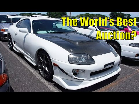 Hundreds Of Japanese Sports Cars At Japan S Biggest Car Auction
