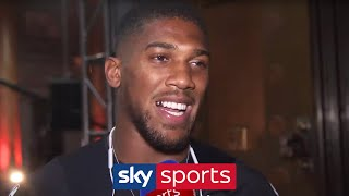 Anthony Joshua dismisses Andy Ruiz's mind games after New York press conference