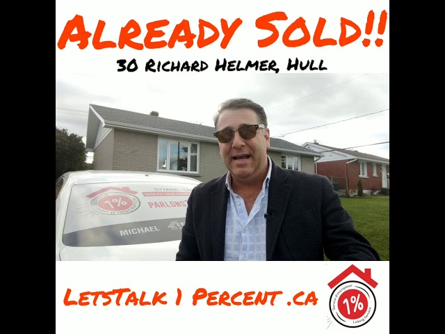 LetsTalk1Percent with Michael Lederman in Hull Quebec