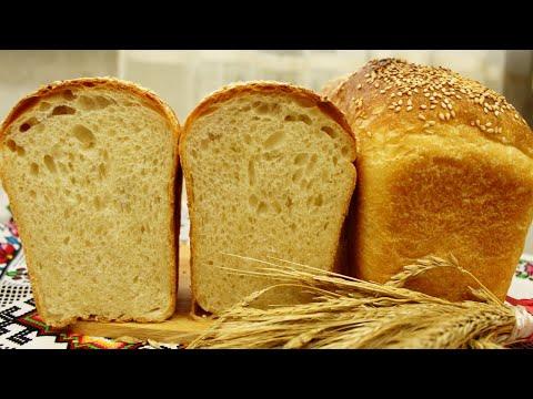 САМЫЙ ВКУСНЫЙ Формовой хлеб ☆ Молочный кирпичик ☆ Пшеничный хлеб в форме