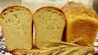САМЫЙ ВКУСНЫЙ Формовой хлеб Молочный кирпичик Пшеничный хлеб в форме